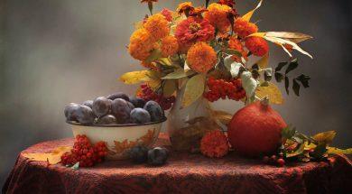 Октябрь. Цвет месяца - оранжевый