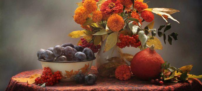 Октябрь. Цвет месяца — оранжевый