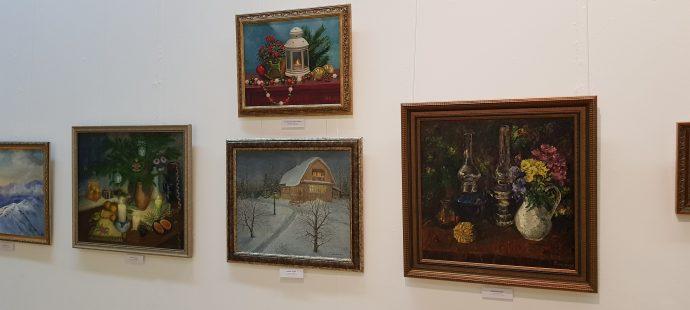 Выставка «Очарованье зимних дней»