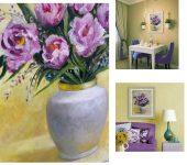 «Букет тюльпанов - Дыхание Весны»
