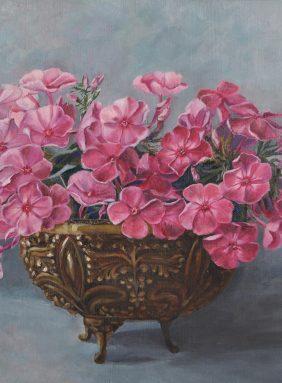 """Phloxes the bronze vase"""
