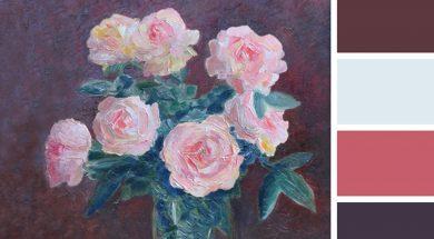 Февраль. Цвет месяца - розовый