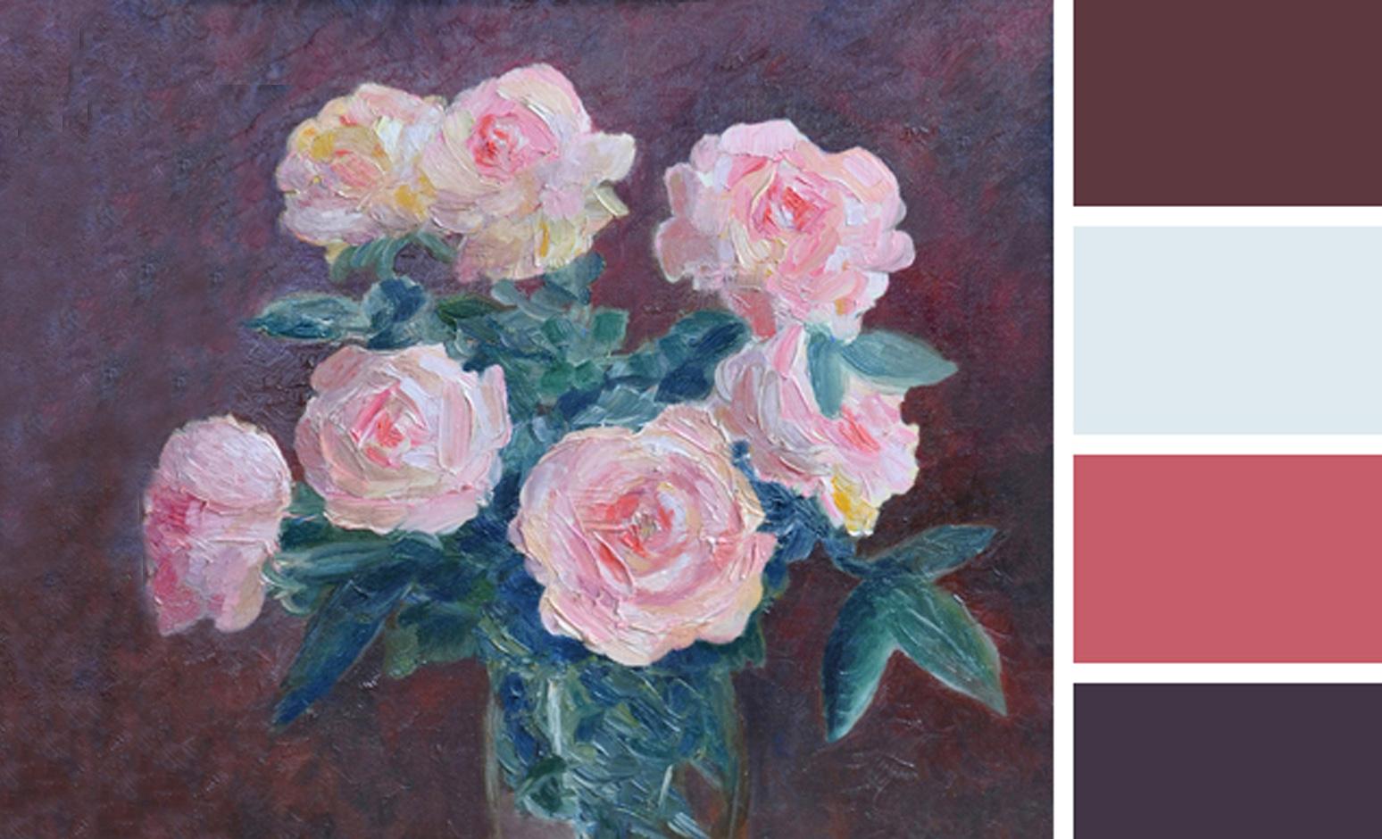 Февраль. Цвет месяца — розовый