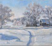 """""""Зима в деревне"""""""